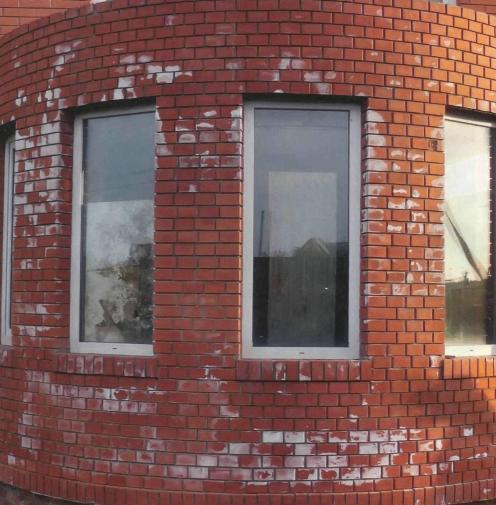 Белые пятна на кирпичной кладке  Форум  FORUMHOUSE